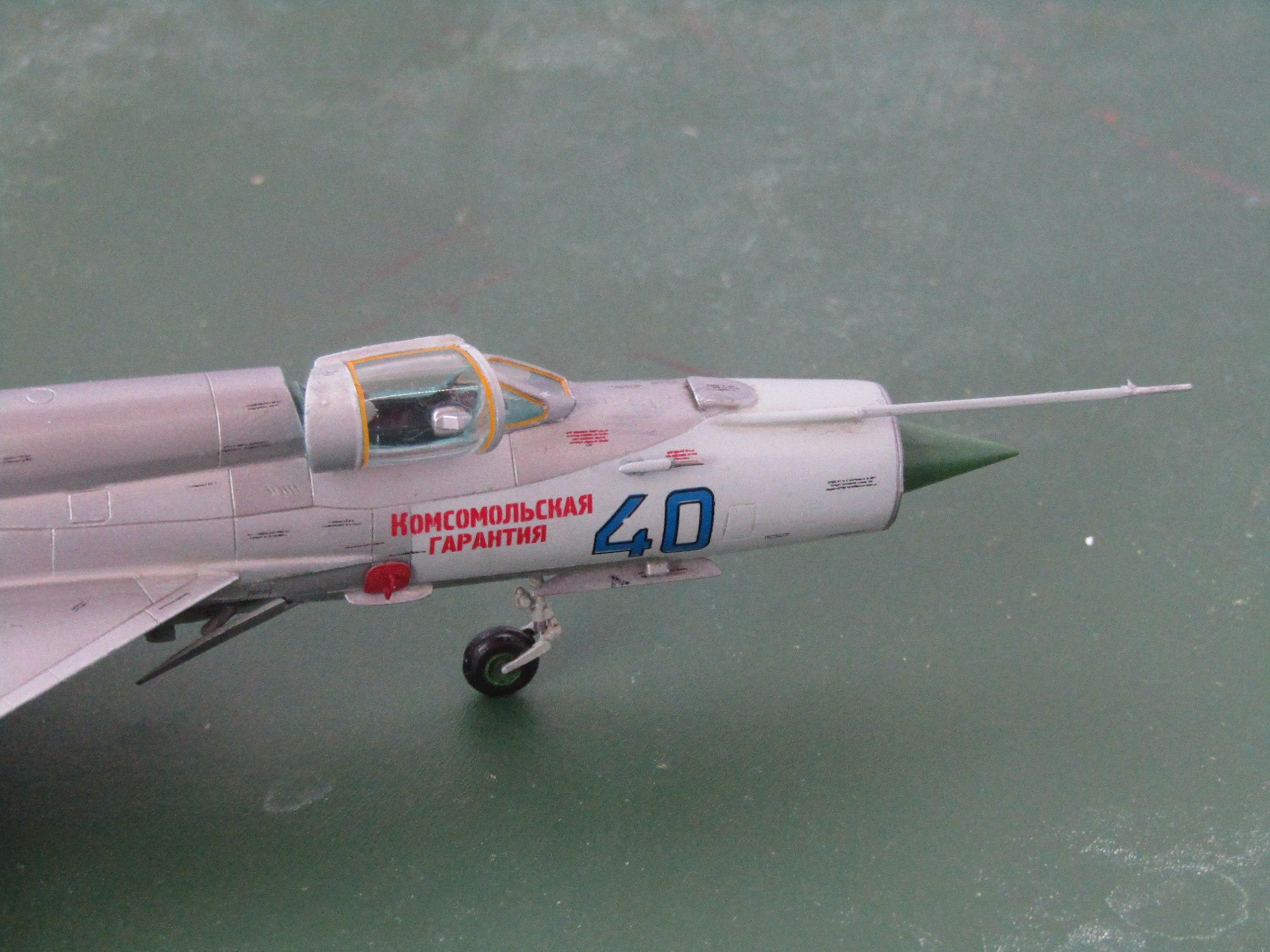 МиГ-21БИС 1/72 (Звезда) 7YSjmQ5l46Q
