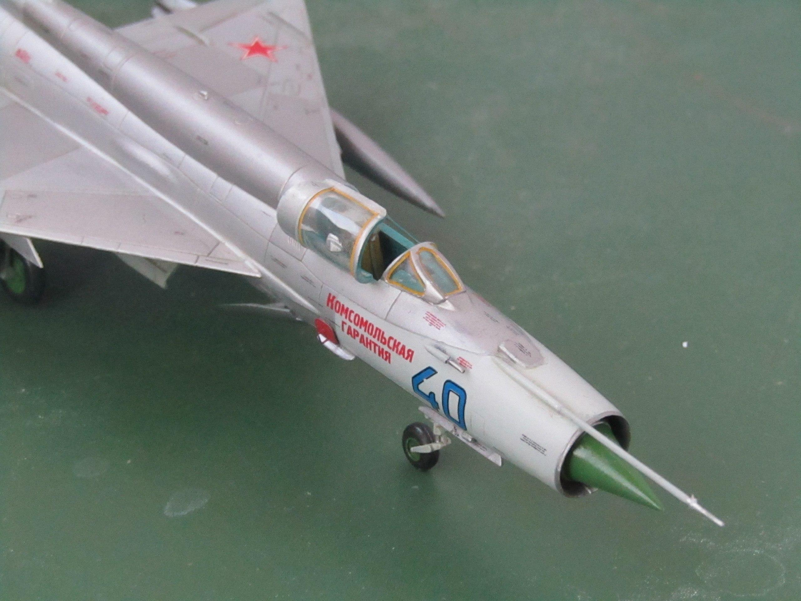 МиГ-21БИС 1/72 (Звезда) 9SX5vHWaC7Y