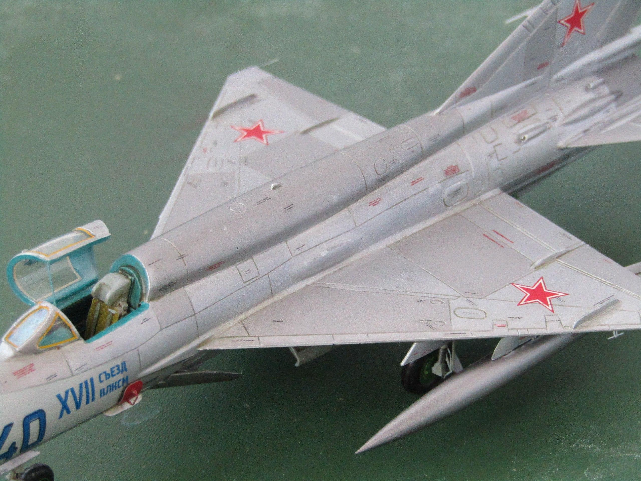 МиГ-21БИС 1/72 (Звезда) 9p0-omFG3WE
