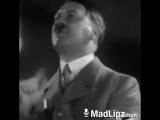 Adolf Hitler spricht über Angela Merkel