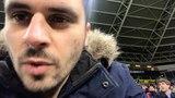 Видео от болельщика, поцеловавшего Роналду на поле