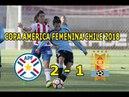 Paraguay 2 1 Uruguay Resumen y Goles Copa América Femenina 12 04 2018