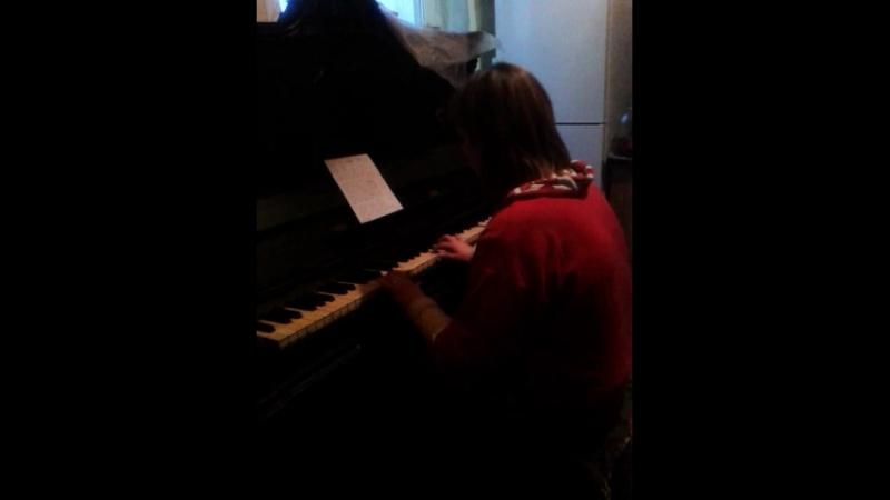 я играю на фортепиано песню афганистан!