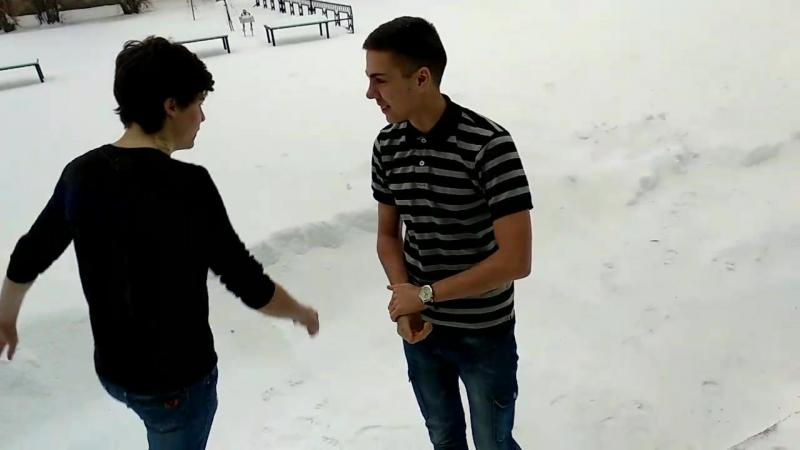 Ныряем в снег.Весна 2018