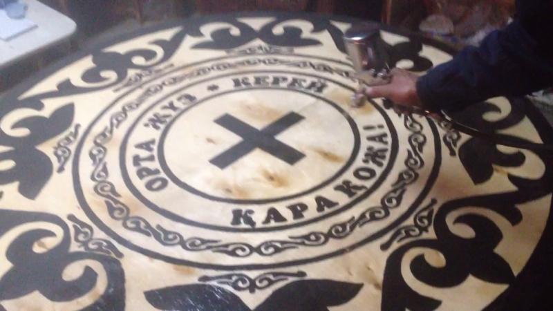 казахский стол с тамгой 20 тыс ТНГ