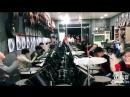 Целый класс юных барабанщиков отжигает 6 sec