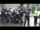 Кременчуг. 16 декабря, 2017. Драка гражданского корпуса азов и полиции