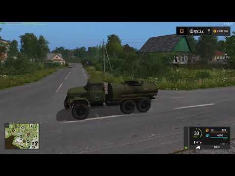 Мод ЗиЛ-131 Заправщик v1.0 Фарминг Симулятор 2017