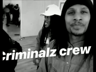 The crew is making sure they are ready.. I know they gone kill it.. @regi_hybride @lestwinsoff @lestwinson #criminalzcrew #lestw