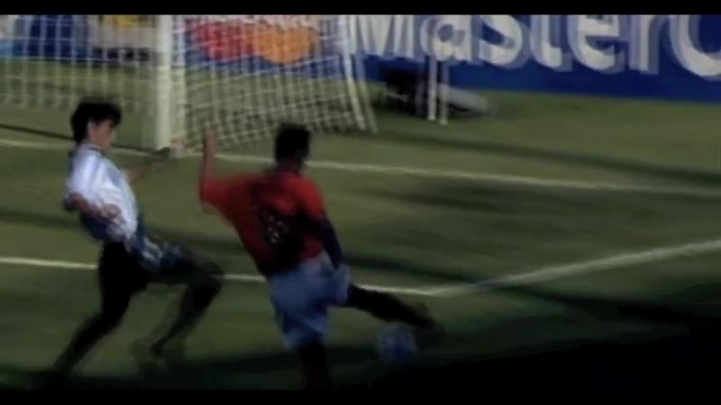 Netherlands - Argentina- Bergkamp Goal 1998 (HD)