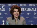 Фанни Ардан Fanny Ardant - Пресс-конференция. Берлинский кинофестиваль (19.02.2018)