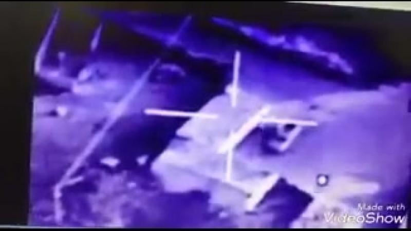 ВВС Ирака наноят удар, Аль-Кайм