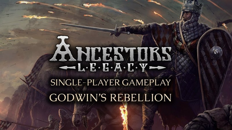 Ancestors Legacy - New Official gameplay footage [Anglo Saxons Campaign]