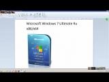 Microsoft Windows 7 Ultimate Ru x86-x64