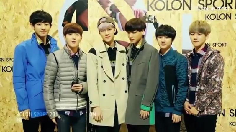 BaekyunzGood day 😉😉😆😆💓 baekyunzexo exok exol exom exoplanet baekhyun แบคฮยอน xiumin luhan kris suho lay chen chany
