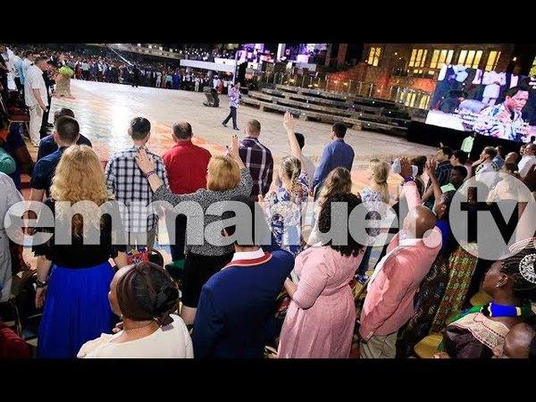 Отрывок пророческого служения с русскоговорящими посетителями 2я часть