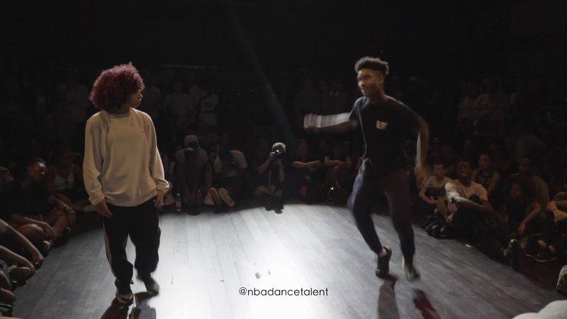 K-YOO vs LIL BLADE QUARTERS NBA DANCE BATTLE