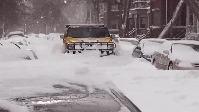 Hummer везде проедет