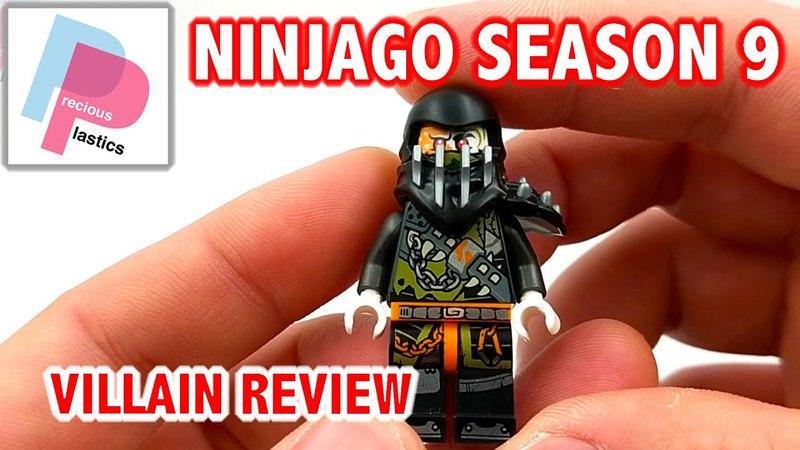 Ninjago Season 9 Minifigures - Villain Review (Set 70652)