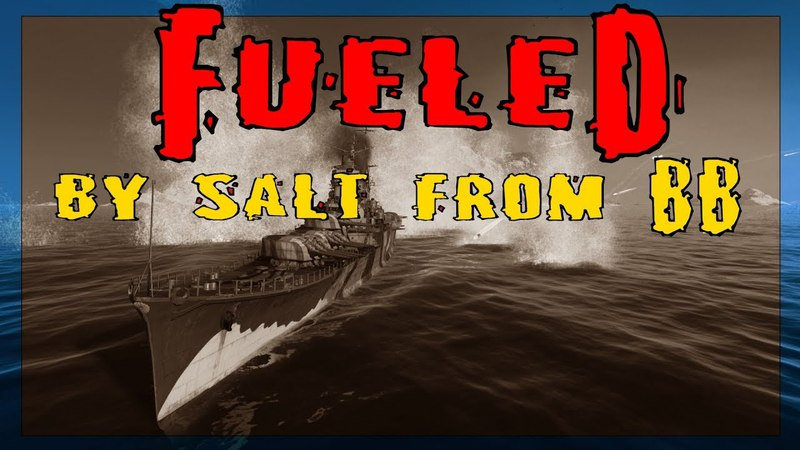 Mogami - Fueled by Salt from BBs || World of Warships