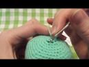 ⓷ 3 способ убавок Убавки крючком Вяжем игрушки * *