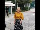 171003 ЧжиЁн после записи радио Сultwo Show