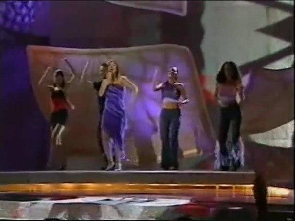 Eurovision 2002 Turkey - Buket Bengisu Group Safir - Leylaklar soldu kalbinde
