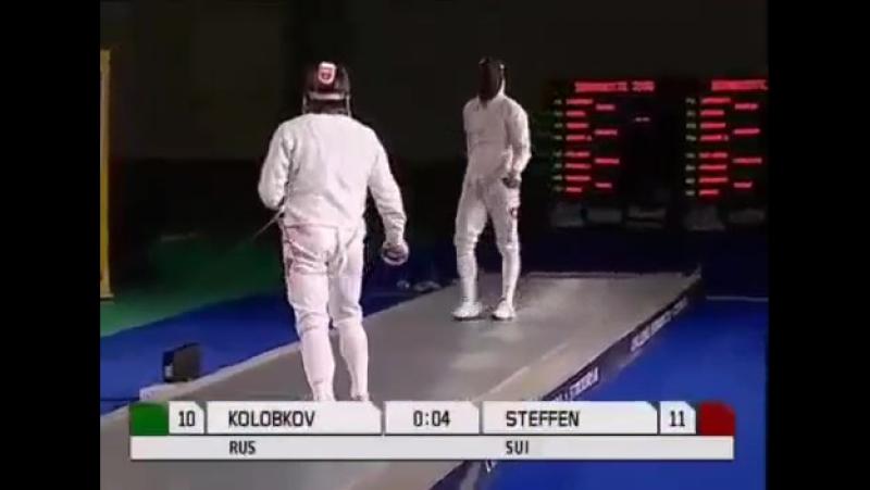 Невозможное возможно 6 сек. Колобков vs. Steffen (Олимп. игры)