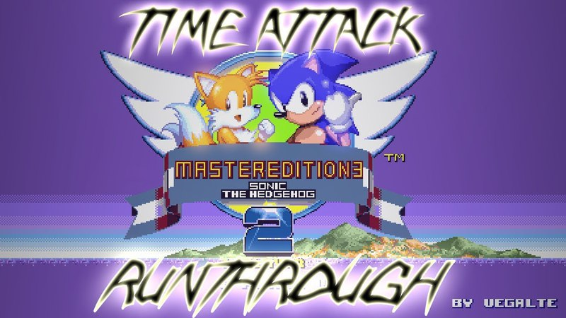 [TAS] Sonic 2 Master Edition 3: Time Attack !Runthrough!