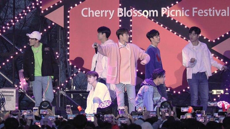 180407 아이콘(iKON) - 사랑을 했다 (LOVE SCENARIO) [벚꽃피크닉페스티벌] 4K 직캠 by 비몽