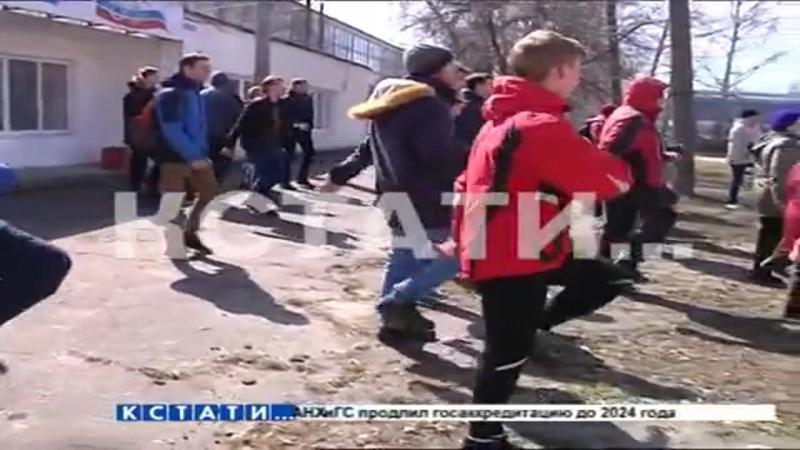 Кстати Новости Нижнего новгорода - Пионеро-пенсионерский флэш-моб в Московском районе