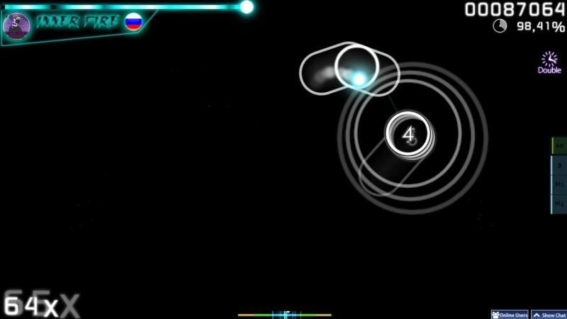 Osu! || S 5* (DT) || InFi (Inner fire)
