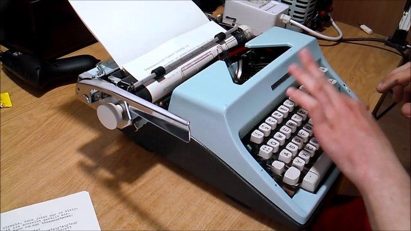 Olympia Colortip S typewriter Schreibmaschine