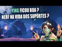 Paladins Ying ficou boa Nerf na vida dos suportes Tarden