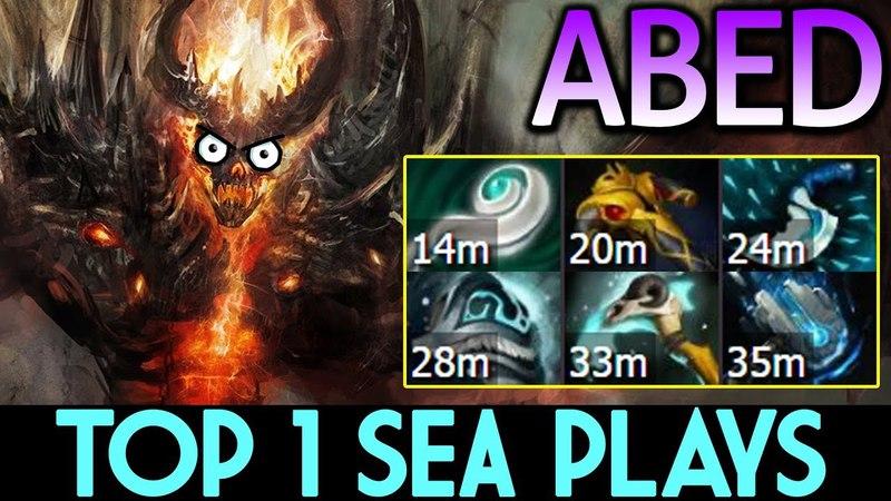 ABED [Shadow Fiend] Top-1 Rank SEA Plays 7.14 Dota 2