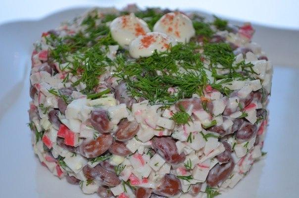куснейших салатов на каждый день!