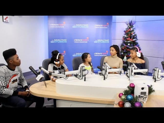 Chloe x Halle Perform at Seacrest Studios