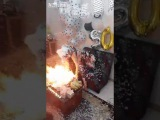 Iranian birthday party on fire