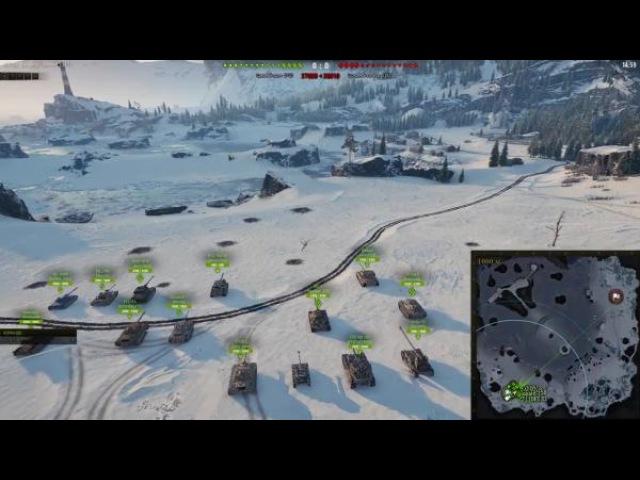 World of Tanks. Карта ШТИЛЬ (NEW!). Обзор Сильных Позиций