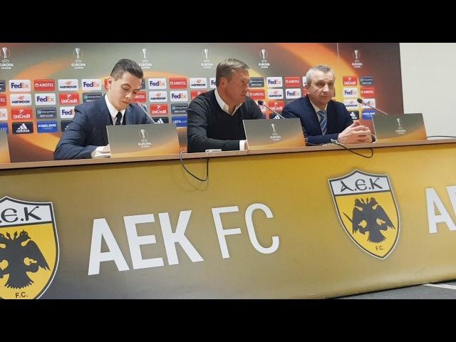 Хацкевич: Мы не выиграли и не проиграли. Это был только первый тайм