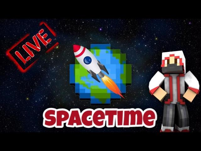 Приватный сервер SpaceTime | Minecraft [W10 / PE] | СТРИМ №4