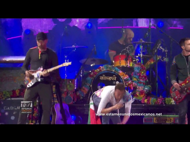 Coldplay - Adventure of a Lifetime (Live from San Diego 2017)