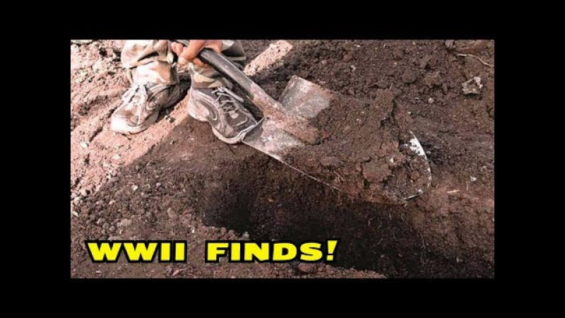 SUPER METAL DETECTING WWII! IT WAS A GOOD DAY! Crazyseeker!
