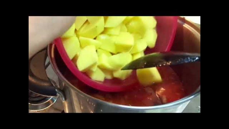 Очень Вкусное Уникальное Блюдо Итальянской Кухни - Рыба Бакалà с картошкой