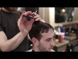 Stephen J - Step-by-step Texture Crop (tutorial on how to cut mens crop cut)
