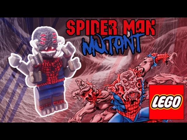 Lego Spider-Man Mutant Custom Minifigure [PlayHunter]