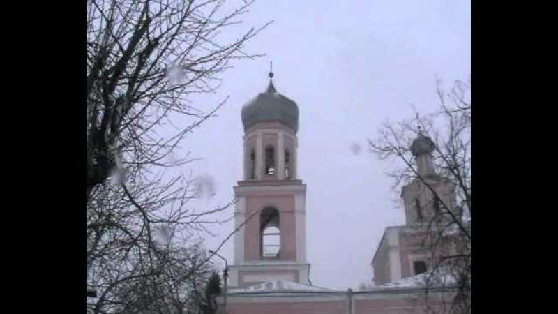 Валдай. Свято-Троицкий собор. Звон на Литургию