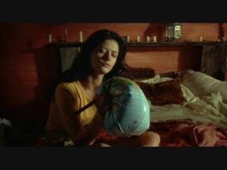 Girl pop small earth ball