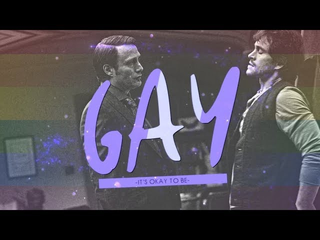 It's okay to be gay [hannibal/will] h-bday Zhenya