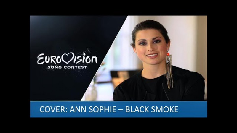 Ann Sophie - Black Smoke. Cover.